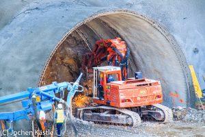 Tunnelanschlag Tunnel Hohenstadt
